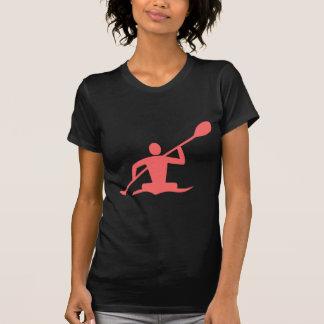 Kayaking - tropisches Rosa T-Shirt