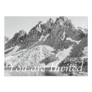 Kearsage Berggipfel-Könige River durch Ansel Adams Personalisierte Einladungen