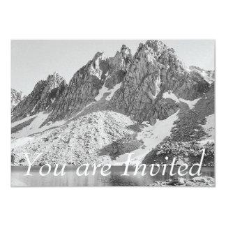Kearsarge Berggipfel, die Sierra durch Ansel Adams 11,4 X 15,9 Cm Einladungskarte