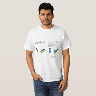 Keenana die Bananen-Schnecke T-Shirt