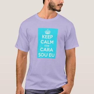 keep bin ich calm dieses Angesicht T-Shirt