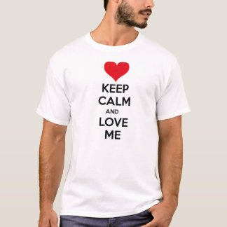Keep calm and love ich T-Shirt