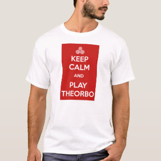 Keep calm and play theorbo T-Shirt