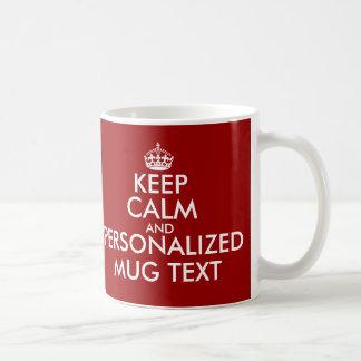 KeepCalm attaque le modèle de | Personalizable Mugs