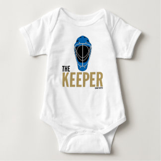 Keeper Hockey Goalie Mask Infant Baby Bodysuit