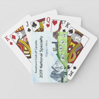 Keeshond-Spielkarten Pokerkarten