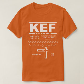 Keflavík T - Shirt internationalen Flughafen-KEF