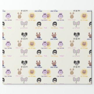 Keiki Aloha Ani-Freund-imal Packpapier Einpackpapier