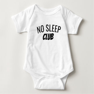Kein Baby-Bodysuit des Schlaf-Verein-| Baby Strampler