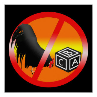 Kein Cockblocking erlaubt Poster