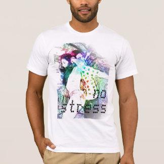 kein Druck T-Shirt