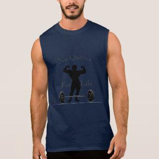Kein Drückeberger für Leben-Behälter Ärmelloses Shirt