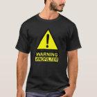 Kein Filter, der lustiges T-Stück warnt T-Shirt