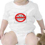 Kein Gangstalking Baby Strampelanzug