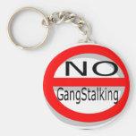 Kein Gangstalking Schlüsselband