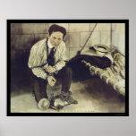Kein Gefängnis kann Harry Houdini 1898 halten Plakat