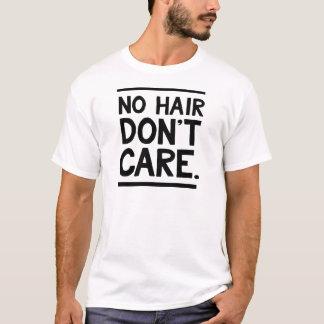Kein Haar interessieren sich nicht Kleid