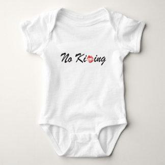 Kein Küssen Baby Strampler