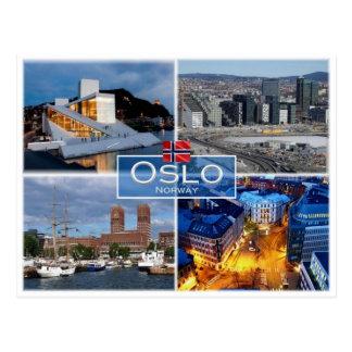 KEIN Norwegen - Oslo - Postkarte