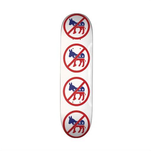 Kein Politik-Demokrat-Esel Individuelle Skateboarddecks