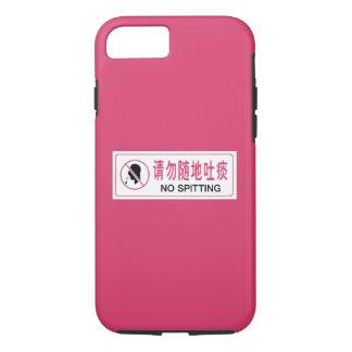 Kein Spratzen, Bus, chinesisches Zeichen iPhone 8/7 Hülle