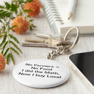 Keine Bauern = keine Nahrung Schlüsselanhänger