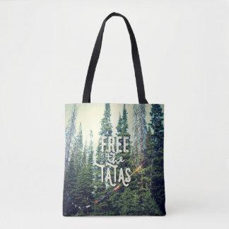 Keine BH erlaubt im Wald Tasche