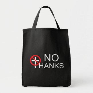 Keine dank Religion Tragetasche