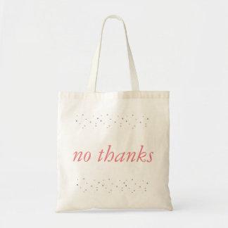 keine Dank-Tasche Tragetasche
