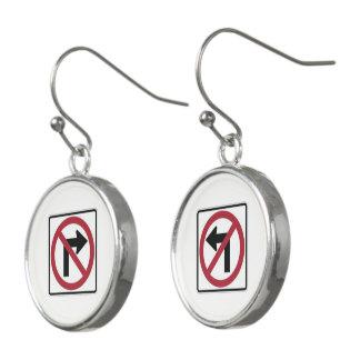 Keine Drehungen Ohrringe