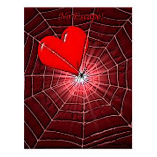 Keine Entweichen-Valentinsgrüße Postkarte