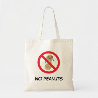 Keine Erdnüsse erlaubt Tragetasche