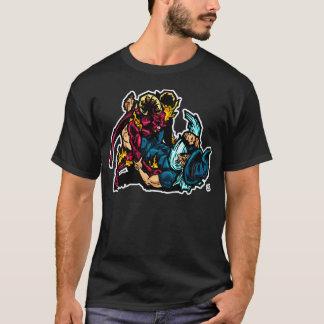 Keine führen meinen Schutz! Jiu Jitsu T-Shirt