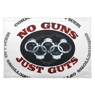 Keine Gewehr-gerade Eingeweide Tischset