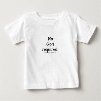 Keine Gott erforderlichen eingebrannten T - Shirts