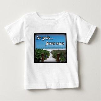 Keine Götter weniger Kriege Baby T-shirt
