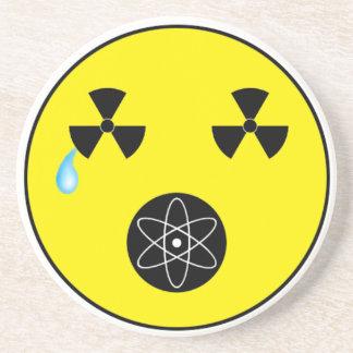 Keine Kernwaffen Sandstein Untersetzer