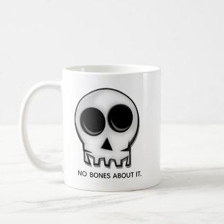 Keine Knochen über es Kaffeetasse