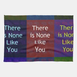 Keine mögen Sie Handtücher