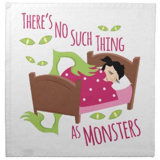 Keine Monster Stoffserviette
