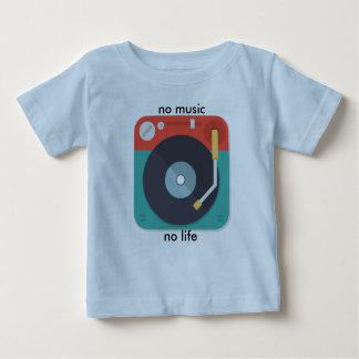 keine Musik kein Leben scherzt T-Shirt