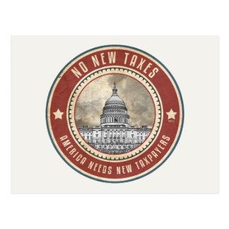 Keine neuen Steuern Postkarte