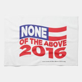 Keine oben genannten 2016 handtuch
