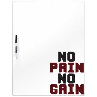 Keine Schmerz, kein Gewinn - TurnhalleWorkout Whiteboard