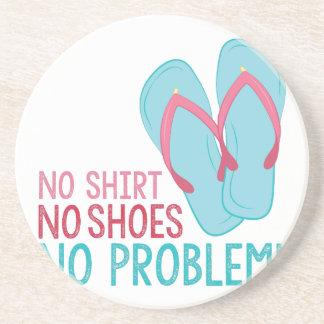 Keine Schuhe Getränkeuntersetzer