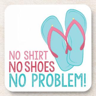 Keine Schuhe Untersetzer