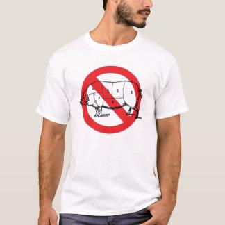 Keine Schwein-Grippe T-Shirt