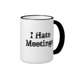 Keine Sitzungen fertigten lustige Büro-Sprichwort-