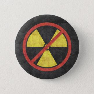 Keine Strahlung Runder Button 5,1 Cm