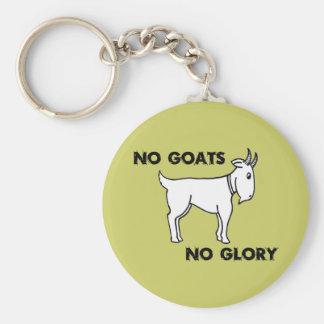 Keine Ziegen kein Ruhm Schlüsselanhänger